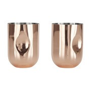 Tom Dixon - Plum Moscow Mule Glass Set Of 2