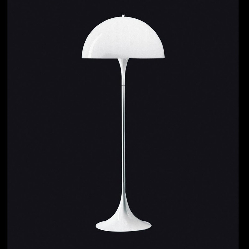 panthella floor lamp louis poulsen. Black Bedroom Furniture Sets. Home Design Ideas