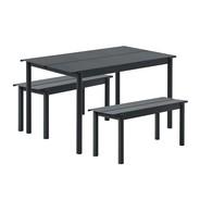 Muuto - Linear Steel Garden Set L 140cm