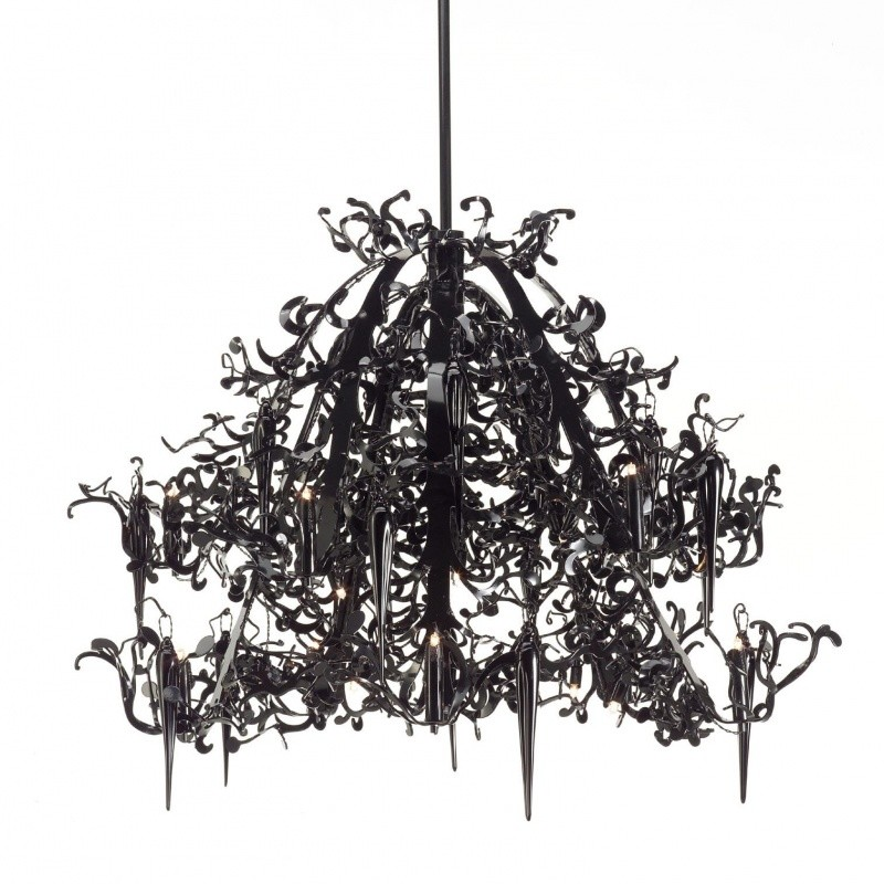 flower power chandelier brand van egmond. Black Bedroom Furniture Sets. Home Design Ideas