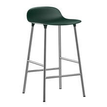 Normann Copenhagen - Form - Tabouret de bar piètement chromé 65