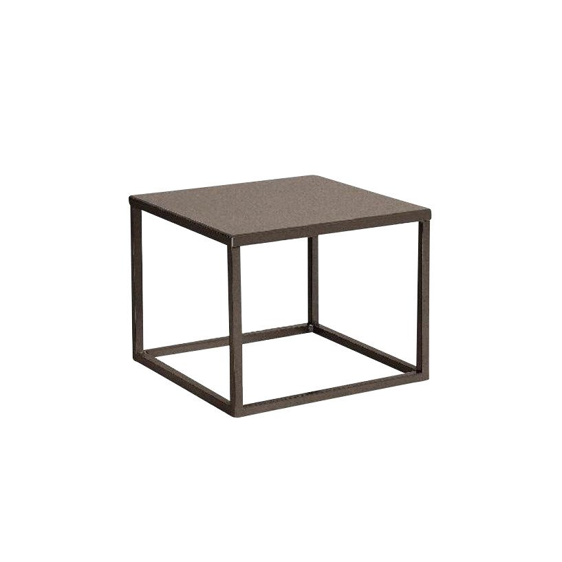 Kettal   Landscape Side Table   Claystone/black/table Top Aluminium ...