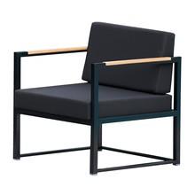 Jan Kurtz - Lux Lounge Gartensessel Gestell schwarz
