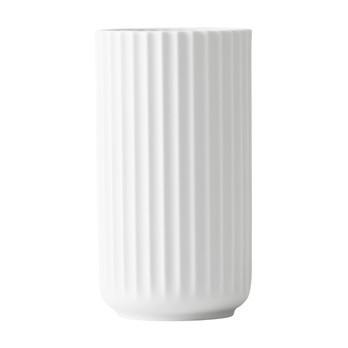 Lyngby Porcelæn - Lyngby Porzellan Vase H20cm - matt weiß/handgemachtes Porzellan/Ø10.5cm