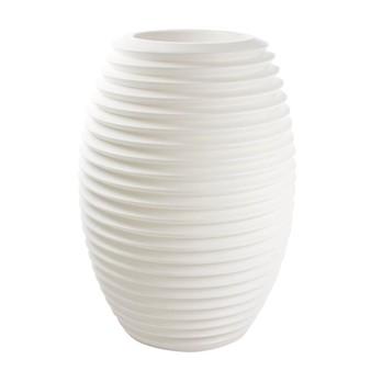 Serralunga - Top Pot Hard Pflanztopf - weiß/Kunststoff
