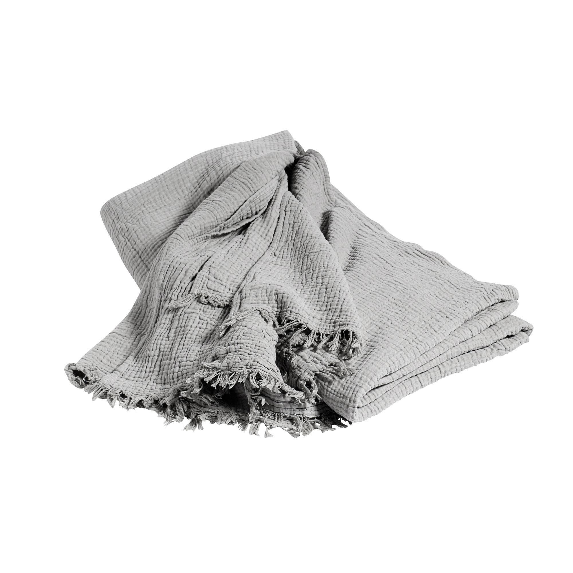 HAY Crinkle Bettüberwurf/Tagesdecke 270x270cm   AmbienteDirect