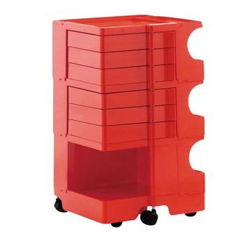 B-Line - Boby 36 - Conteneur - rouge/6 tiroirs