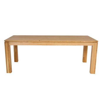 ADWOOD - Flex Ausziehbarer Holz-Esstisch - eiche/geölt/200x90cm/ausziehbar auf 300cm