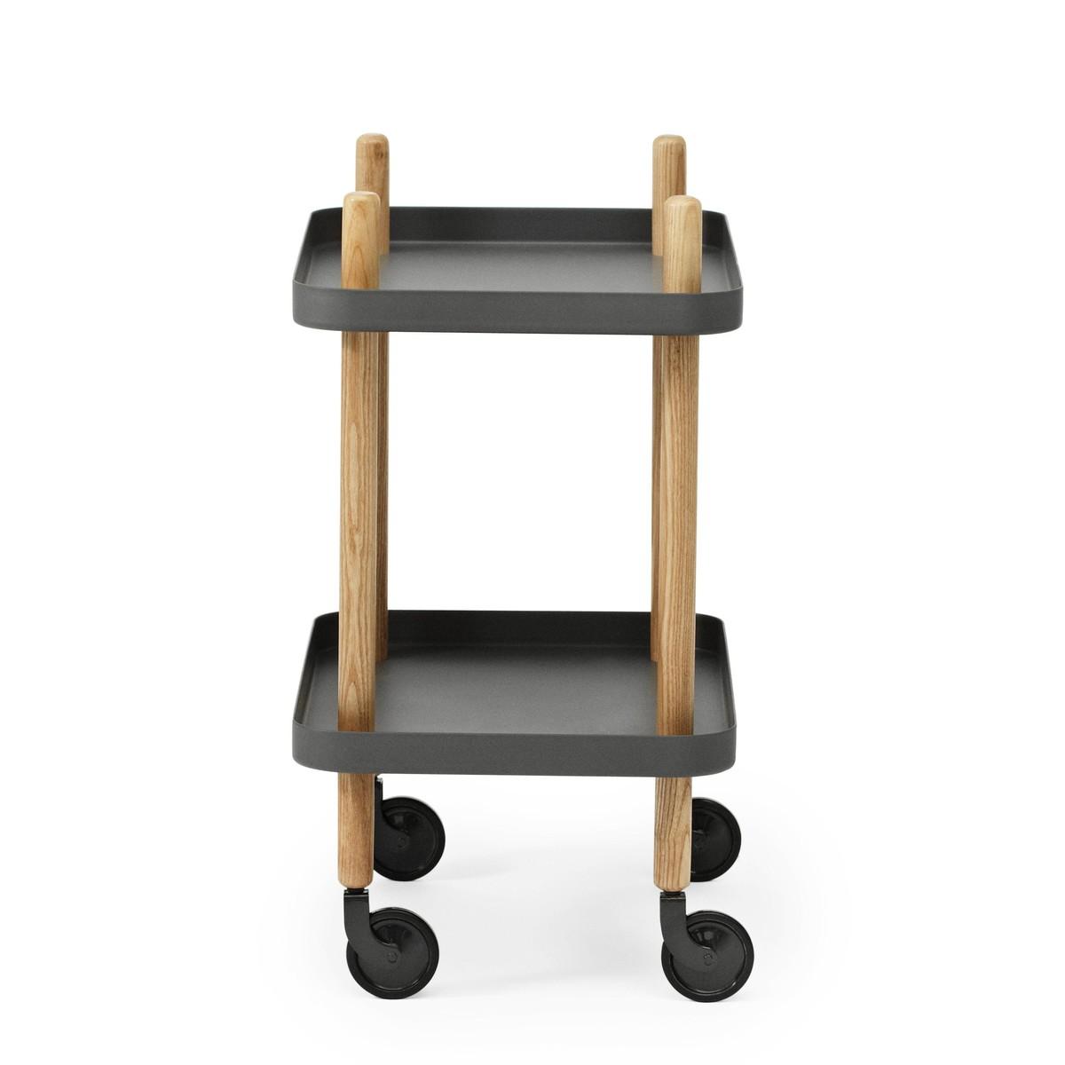 block side table trolley normann copenhagen. Black Bedroom Furniture Sets. Home Design Ideas