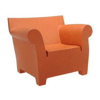 Wonderful Kartell   Bubble Club Armchair   Terracotta/polyethylen/105x80x77cm