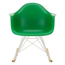 Vitra - Eames Plastic RAR schommelstoel onderstel wit