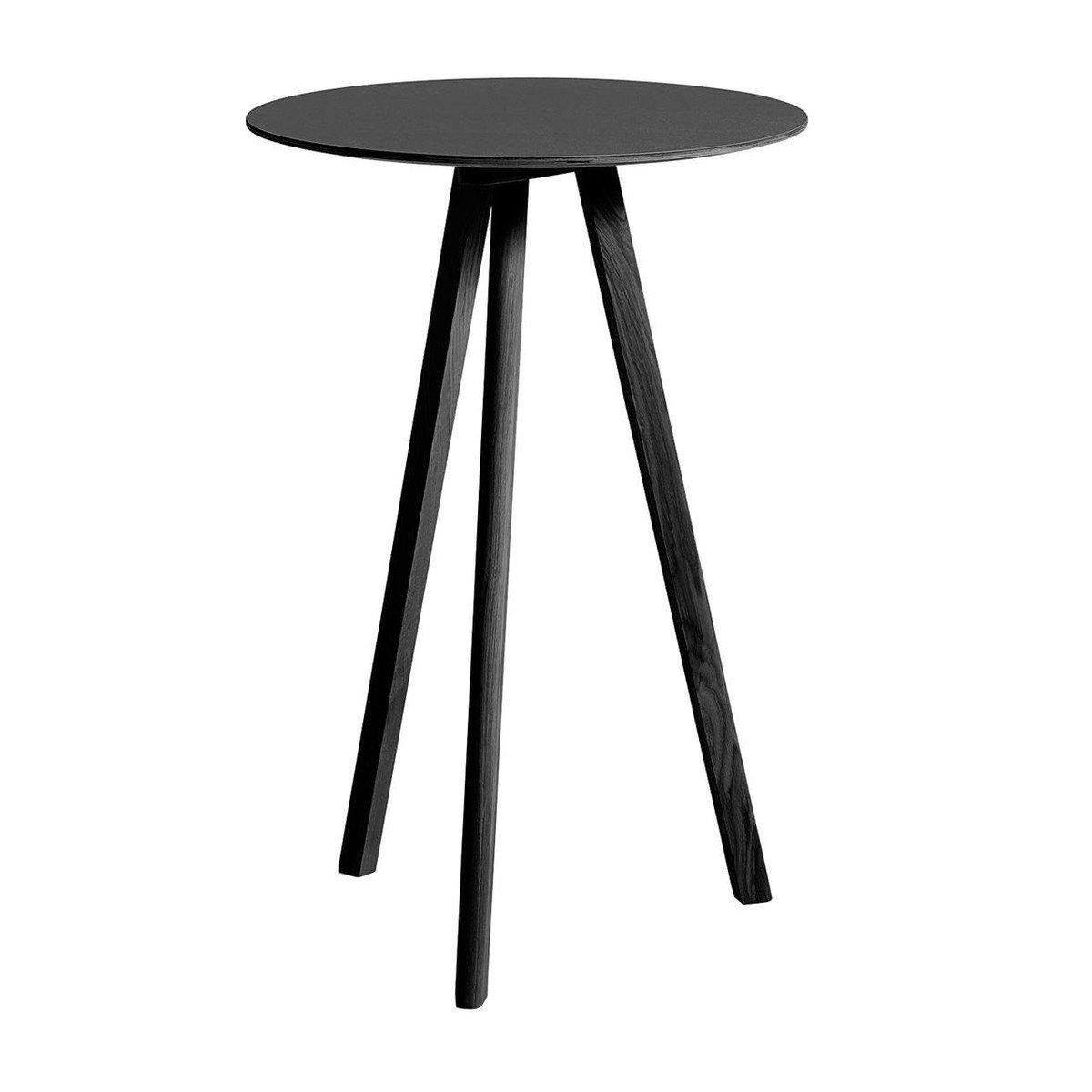copenhague cph20 - table haute Ø70cm | hay | ambientedirect