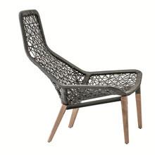Kettal - Maia Relax - Fauteuil houten onderstel