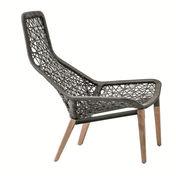Kettal - Maia Relax Gartensessel mit Holzgestell