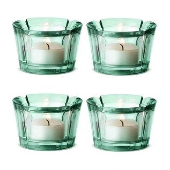 Rosendahl Design Group - Grand Cru Teelichthalter 4er-Set - aquamarin
