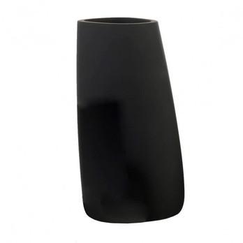 Vondom - Stones 3 Pflanzgefäß - schwarz/matt/140x105x140 cm