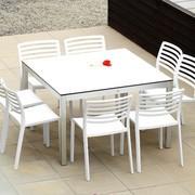 Jan Kurtz - Quadrat - Table de jardin/structure aluminium