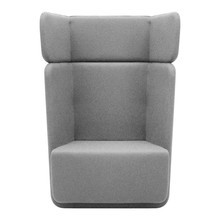 Softline - Basket Armchair with high back
