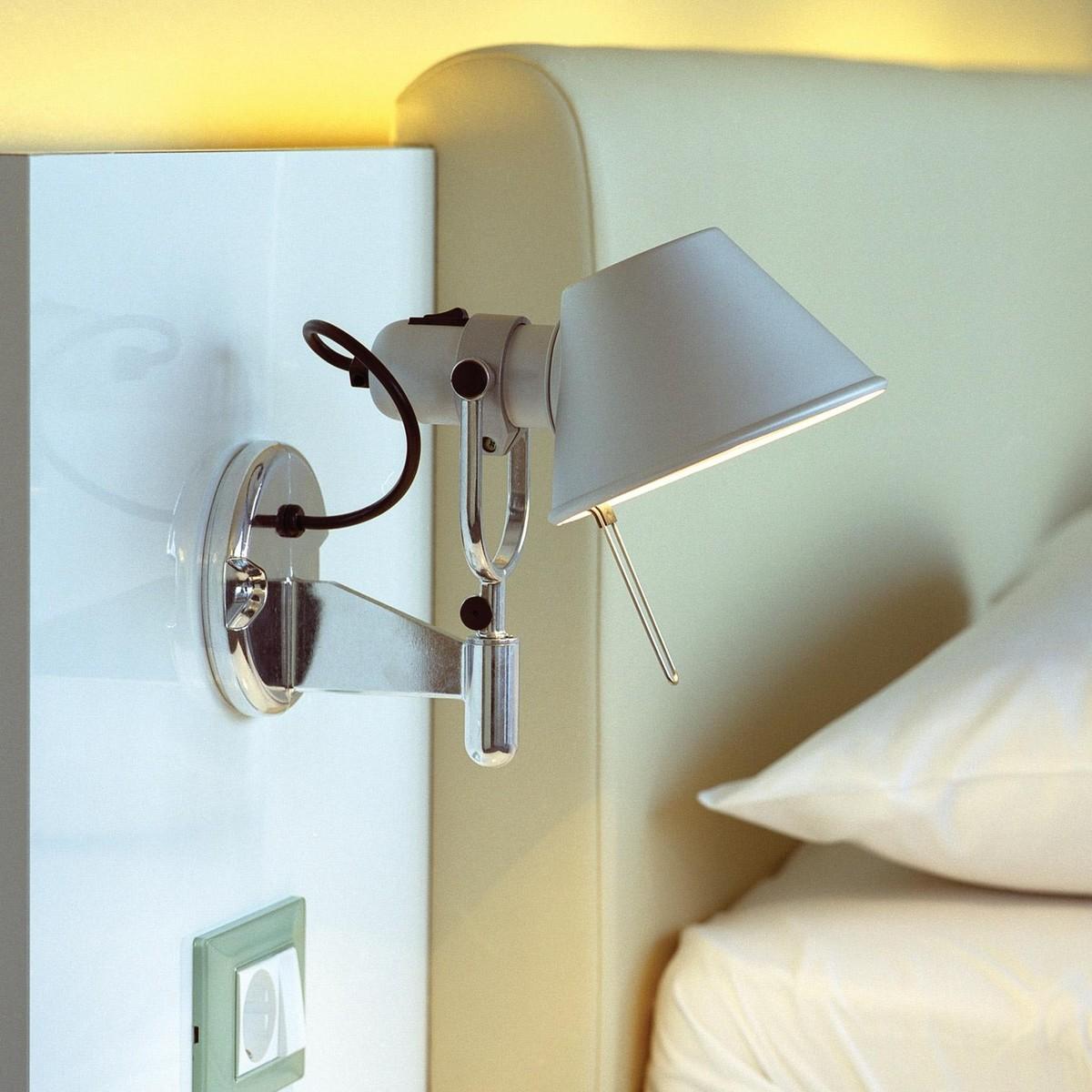tolomeo micro faretto led wandleuchte artemide. Black Bedroom Furniture Sets. Home Design Ideas