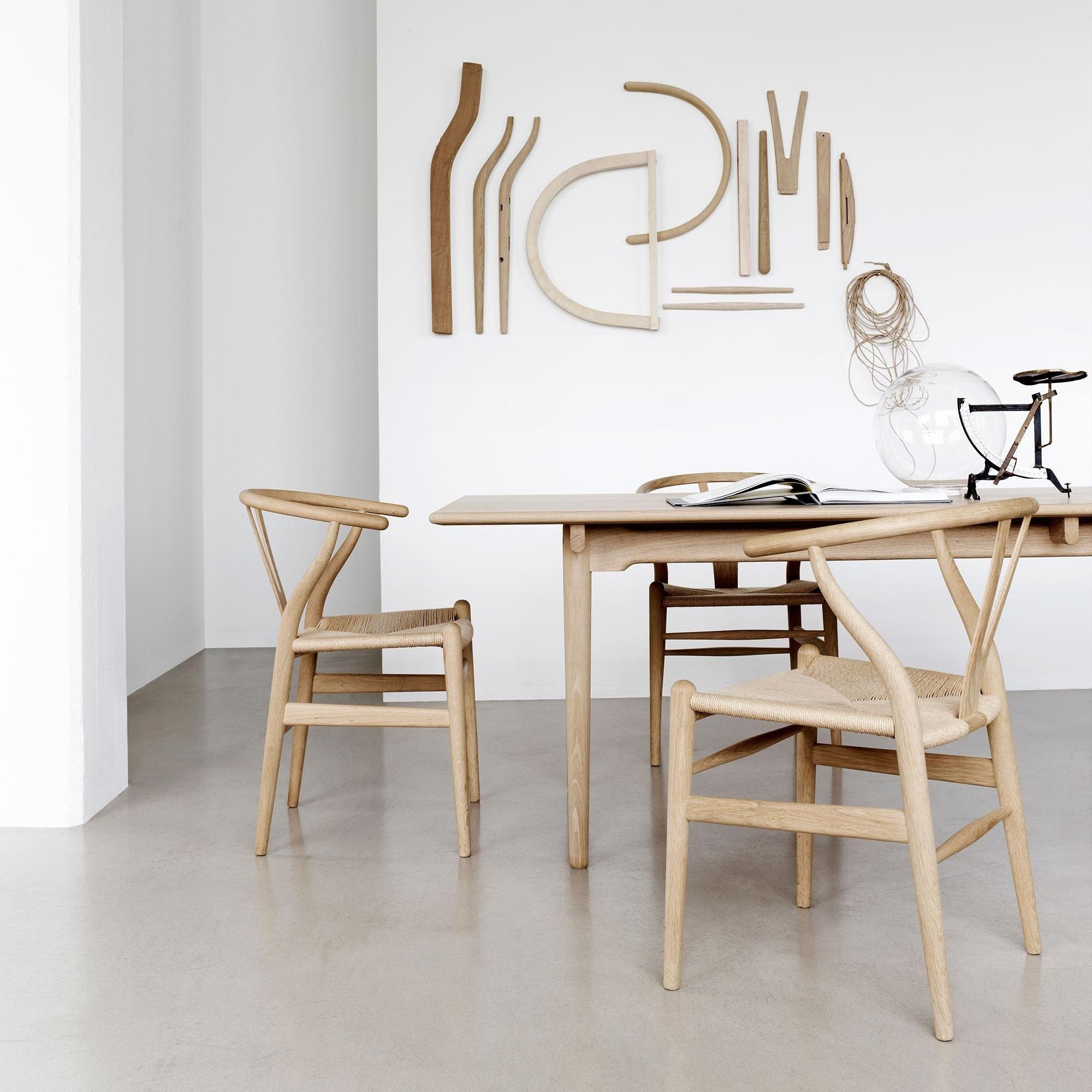 Carl Hansen Ch24 Wishbone Chair Frame Oak Ambientedirect