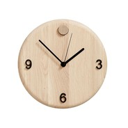 Andersen Furniture - Wood Time Wanduhr Ø22cm