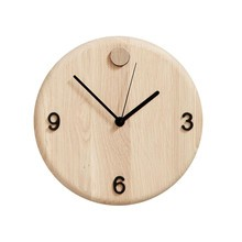 Andersen Furniture - Wood Time - Horloge murale Ø22cm