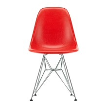 Vitra - Eames Fiberglass Side Chair DSR Chromed Base