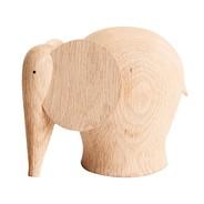 Woud - Figure de bois Nunu Éléphant