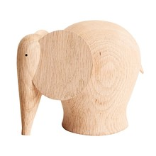 Woud - Nunu Elephant Wood Figure