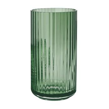 Lyngby Porcelæn - Lyngby Glas Vase H25cm - copenhagen grün/mundgeblasenes Glas/Ø14cm