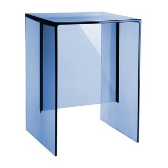Kartell - Laufen Max-Beam Hocker/Beistelltisch - blau