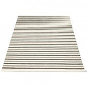 pappelina - Lisa Teppich 140 x 220 cm - schlamm/vanille