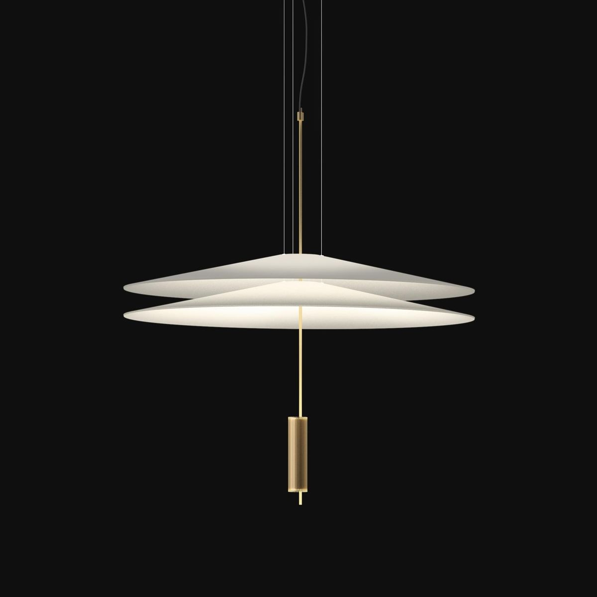 Flamingo 1510 led suspension lamp vibia for Suspension 4 lampes
