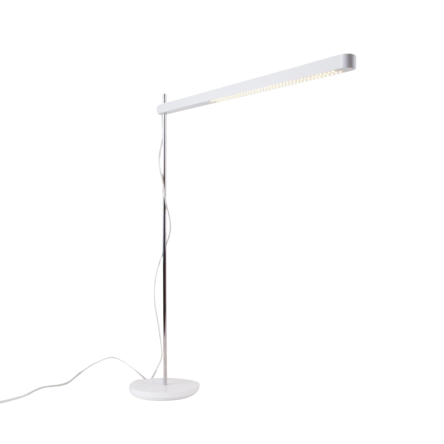 Artemide Talak Professional Led Desk Lamp White With Table