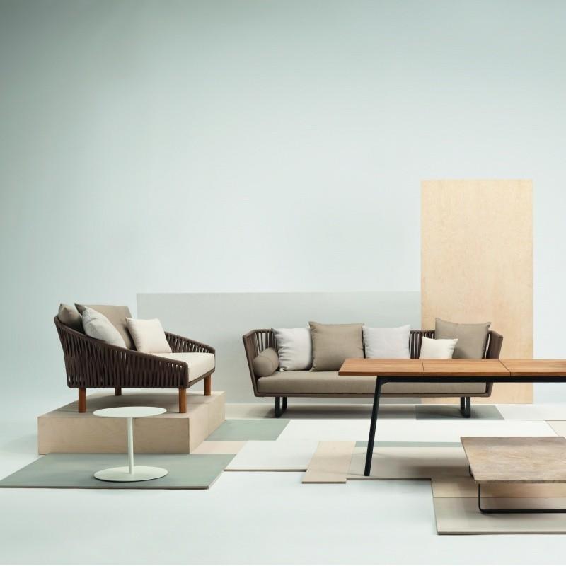 Kettal Bitta 3-Sitzer Outdoor Sofa | AmbienteDirect