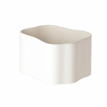 - Riihitie Pflanzbehälter Form A - weiß/glänzend/20.5x16x12cm/nur für den Innenbereich geeignet