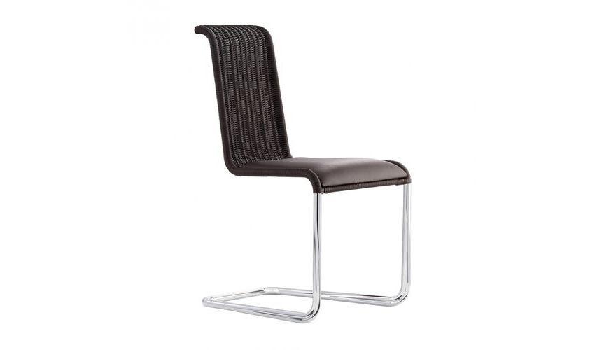 b20i freischwinger stuhl mit sitzpolster tecta. Black Bedroom Furniture Sets. Home Design Ideas