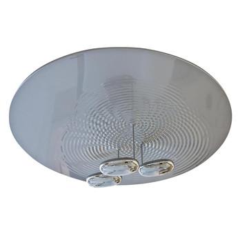 Artemide - Droplet Soffitto LED Deckenleuchte - aluminium/poliert/3x29W LED/3000K/H 32cm/Ø 110cm
