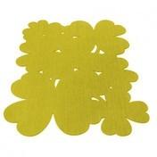 Fermob - Trèfle Outdoor-Teppich 200x200 - ananas gelb