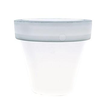 Serralunga - Vas One Leuchte / Blumentopf M - neutral / ØxH 130x120cm/Kunststoff