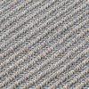 GAN - Garden Layers Big Roll Diagonal Kissen - mandel-blau/Handwebstuhl/LxBxH 78x40x40cm