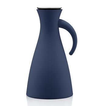 Eva Solo - Eva Solo Isolierkanne schmal - blau - marineblau/1L/H 29cm/Ø 15.5cm