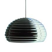 Flos - Splügen Bräu Pendelleuchte - aluminium / Ø36cm/poliert