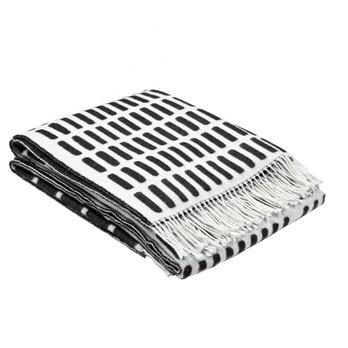 Artek - Artek Siena Tagesdecke - schwarz-weiß/180x130cm