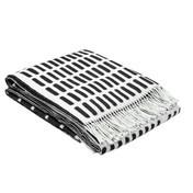 Artek - Siena Tagesdecke - schwarz-weiß/180x130cm