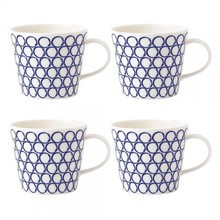 Royal Doulton - Pacific Circle Tasse 4er Set