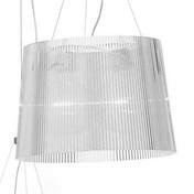 Kartell - Gè Pendelleuchte - transparent/transparent