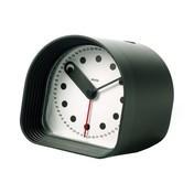 Alessi - Optic Tischuhr mit Weckfunktion - schwarz/LxBxH 8x8x8 cm