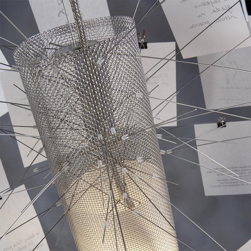 Ingo Maurer Zettelz 6 Suspension Lamp Ambientedirect