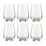 Schott Zwiesel - Vina Touch Becher / Glas 6er Set - bernstein/Tritan® Kristallglas/385ml/H: 11.4cm